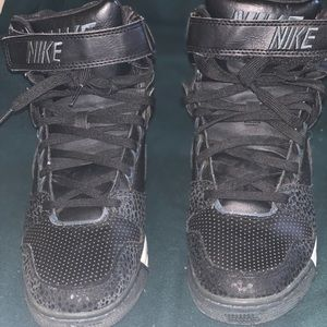Nike Shoes - Nike air revolution sky hi